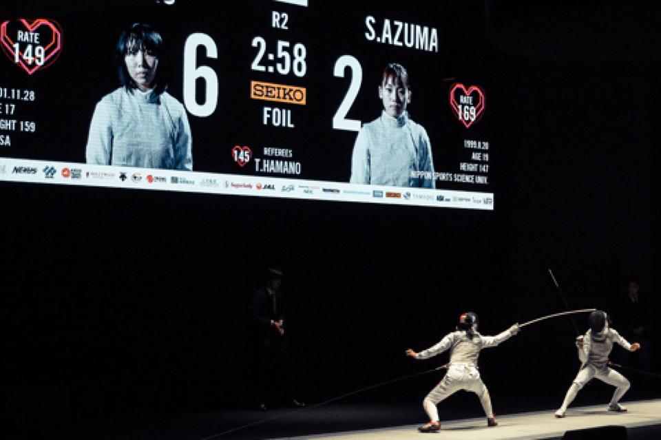 第71回全日本フェンシング選手権大会 決勝戦