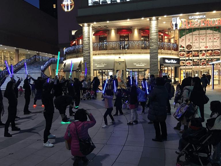 東京・深川ギャザリアにてTOKYOSABERZのイベントを開催しました。