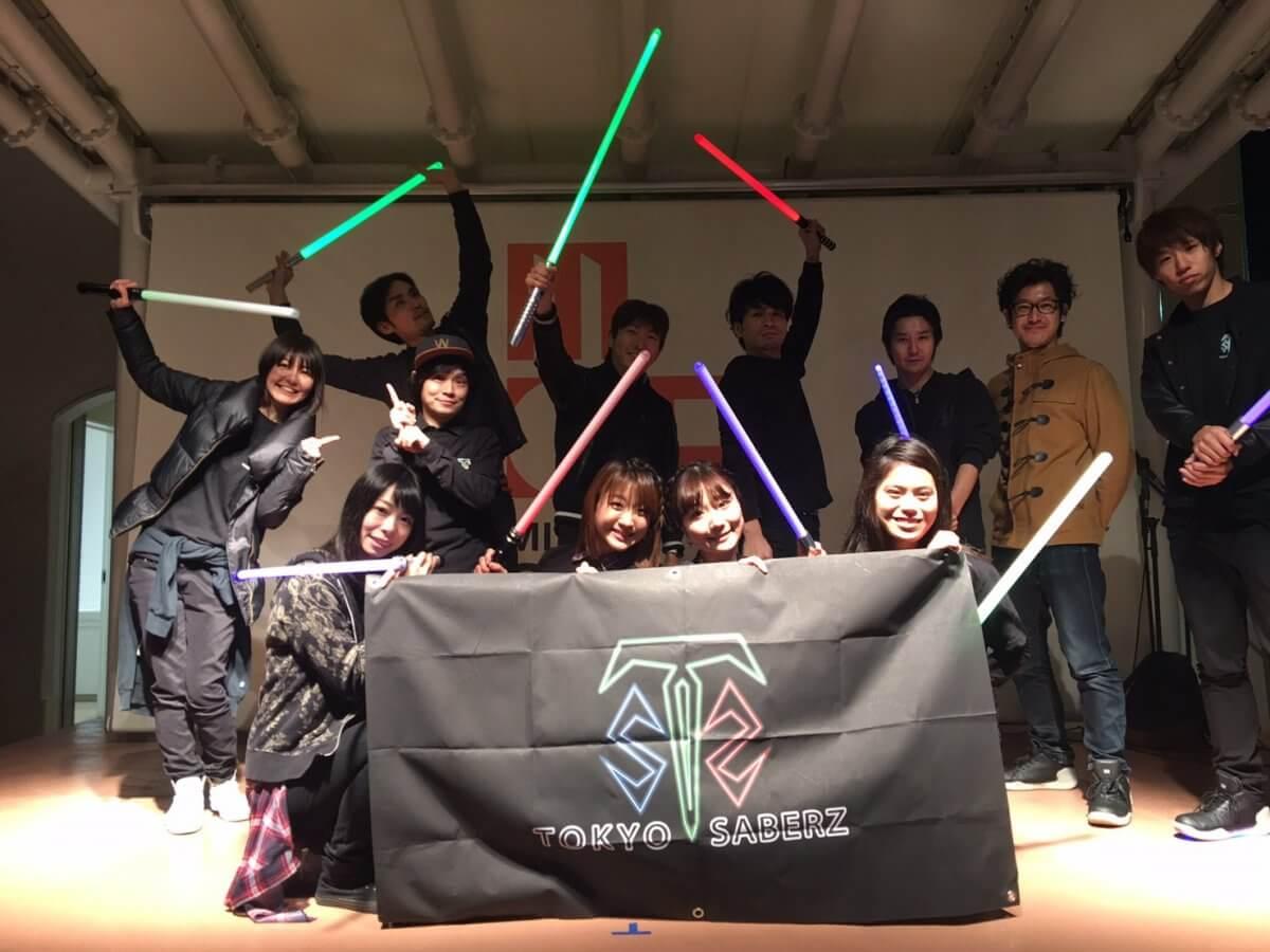 三井アウトレットパーク多摩南大沢にて、TOKYOSABERZのイベントを開催しました。