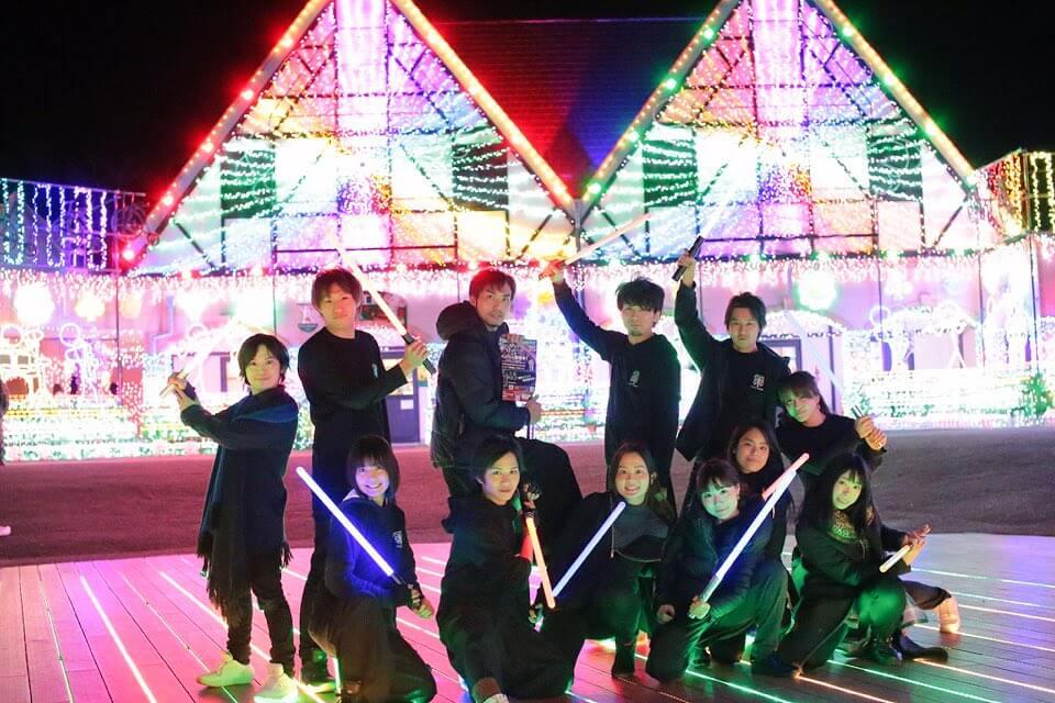 東京ドイツ村にてTOKYOSABERZのイベントを開催しました