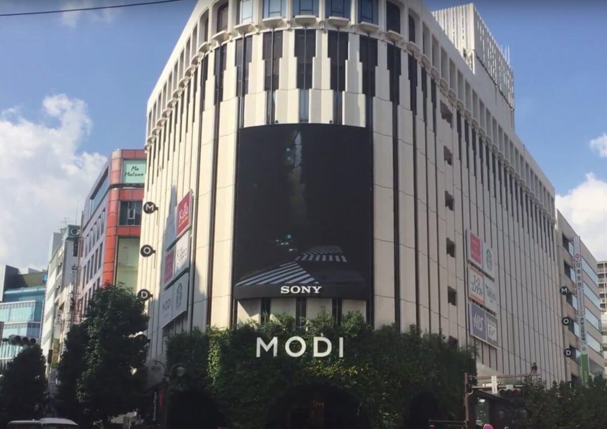 「ソニービジョン渋谷」街と人とをつなげるコミュニケーション型LEDビジョン