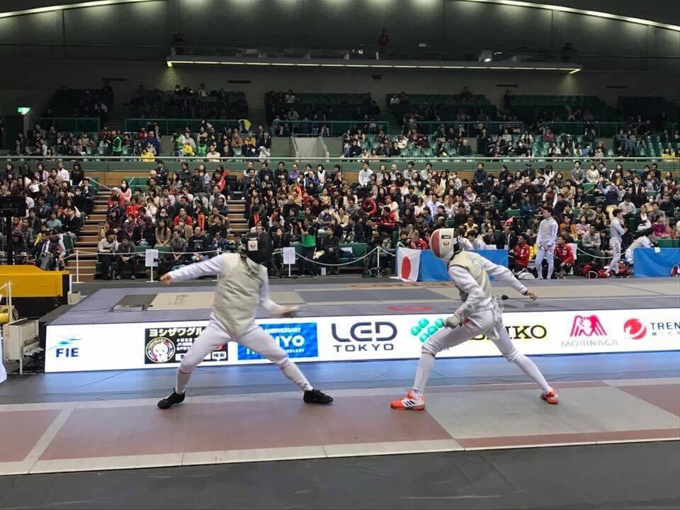 フェンシングの世界大会「高円宮杯 Fie Fencing World Cup Tokyo 2017」に、弊社のLEDを導入させていただきました!