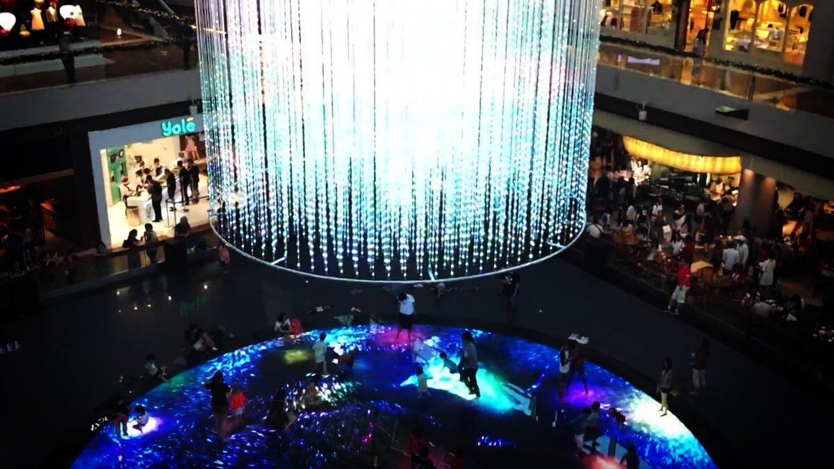 """シンガポール""""マリーナベイ・サンズ""""に多感覚デジタルインスタレーションが新たに誕生!「Digital Light Canvas」"""