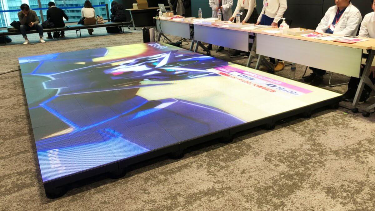 「ホリエモン万博」に床用LEDビジョンを設置いたしました
