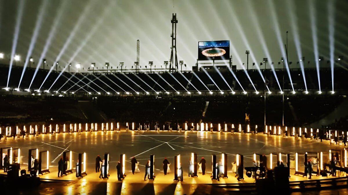 世界が注目する未来のテクノロジー「平昌オリンピック開会式」のLEDビジョン