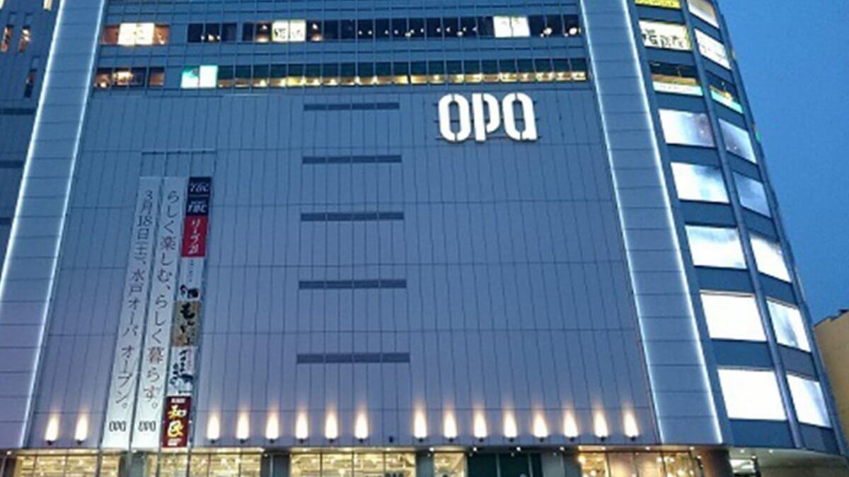 """LEDビジョンが透ける?国内最大級""""ウィンドウビジョン""""が登場!「茨城・水戸OPA」"""