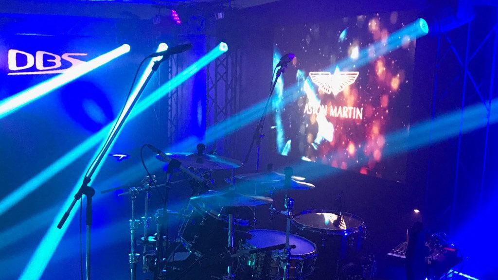 アストンマーティン「DBS Superleggera CONFIDENTIAL Preview & Launch Event 」特設会場に、LEDビジョンを設置しました