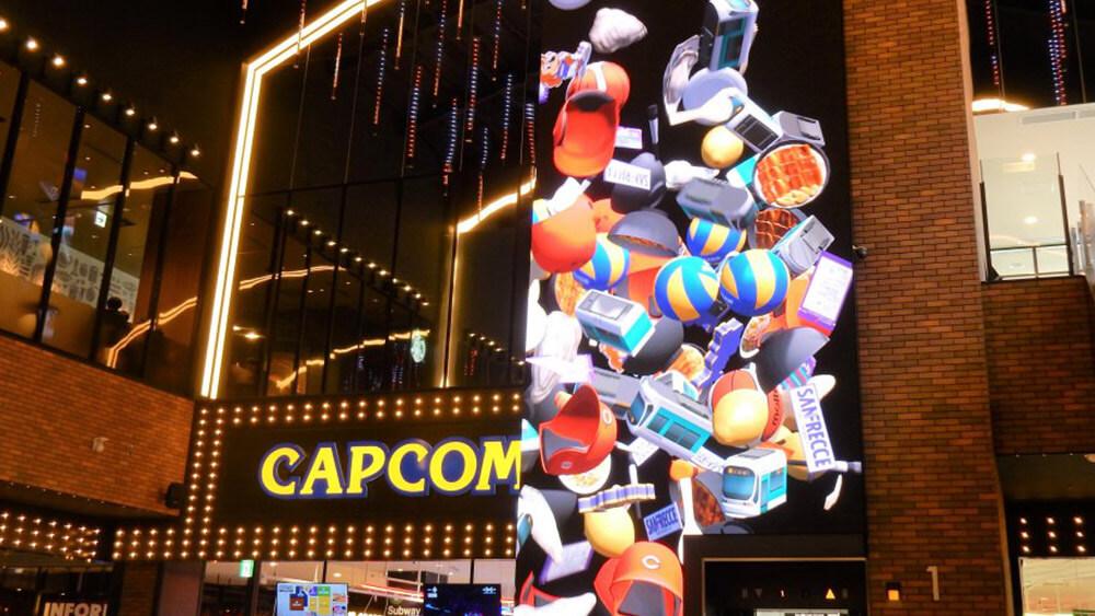 今年4月、中四国最大級アウトレット「THE OUTLETS HIROSHIMA」に誕生した大型LEDビジョン