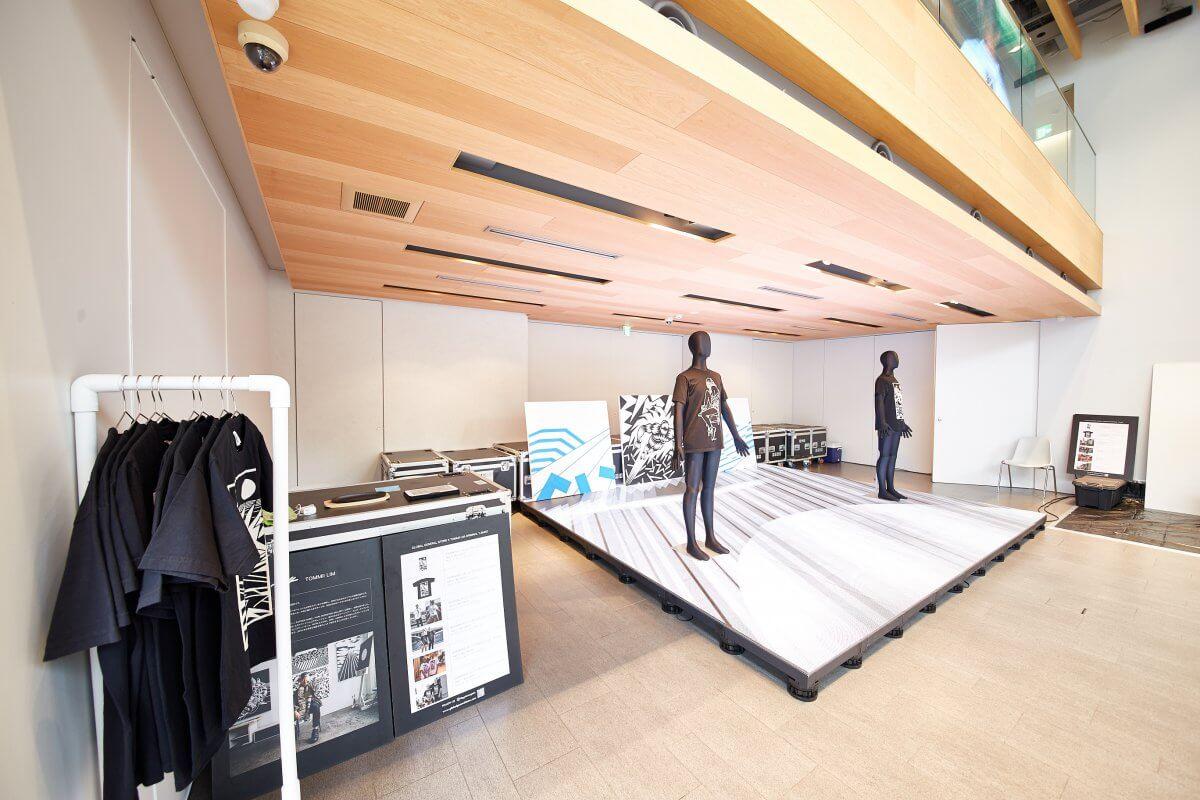 アート空間をLED演出!LA発「Global General Store」のポップアップストアにLEDビジョンを導入しました