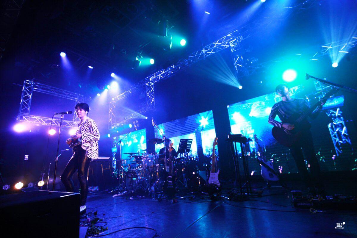 9/6「MINUE」の除隊後初となるコンサートを日本で開催!セクシーな歌声とLED演出で超満員の会場を1つに!