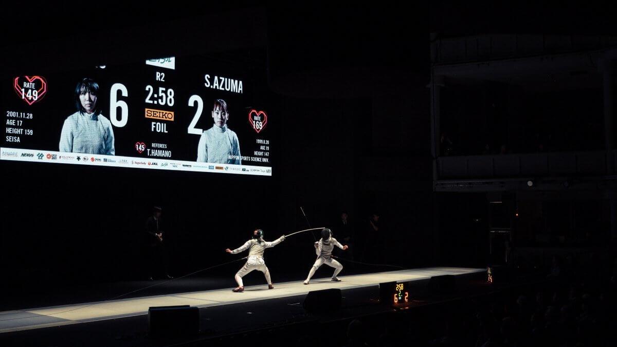 劇場で魅せる新たなスポーツ「エイブルPresents第71回全日本フェンシング選手権大会 決勝戦」に協賛しました