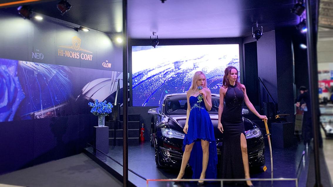 33万人を動員した世界最大カスタムカーイベント「東京オートサロン2019」「G'ZOX」展示ブースにLEDビジョンを設置しました