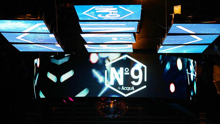 新宿歌舞伎町「No.9」が 120 坪の大型店舗にて「LED ビジョン」を導入しリニューアルオープンしました
