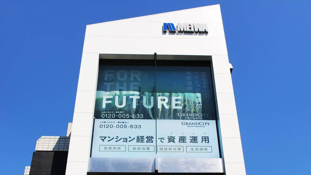 好立地の建物やガラス面を利用した「LEDビジョン」が急増!東京千駄ヶ谷「GRAND HARAJUKU」