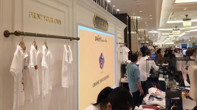 LED ラルフローレン 阪急 イベント