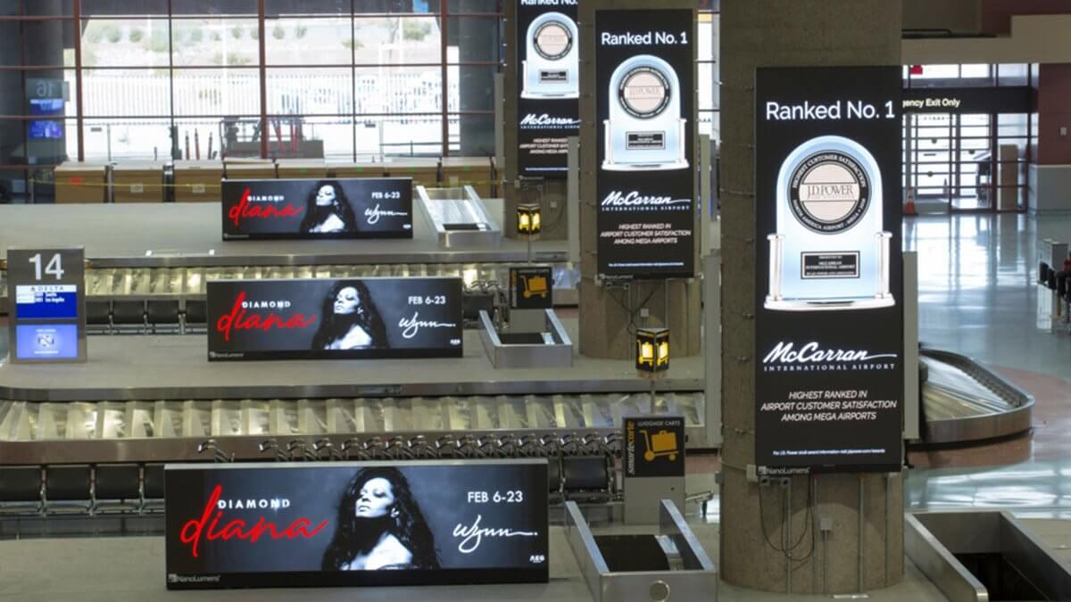 """""""LEDビジョン化""""が次世代に残る鍵に!世界最大級観光都市ラスベガス「マッカラン国際空港」"""