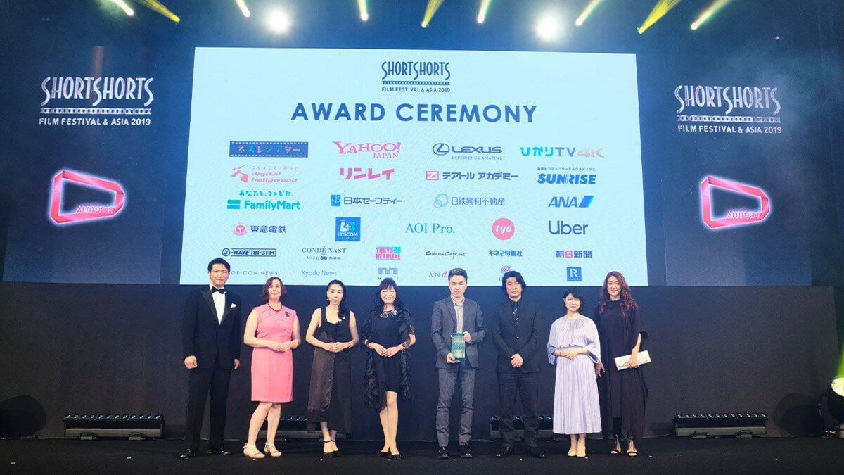 豪華ゲストが登壇!アジア最大級国際短編映画祭「SSFF & ASIA 2019 アワードセレモニー」に大型LEDビジョンを設置しました