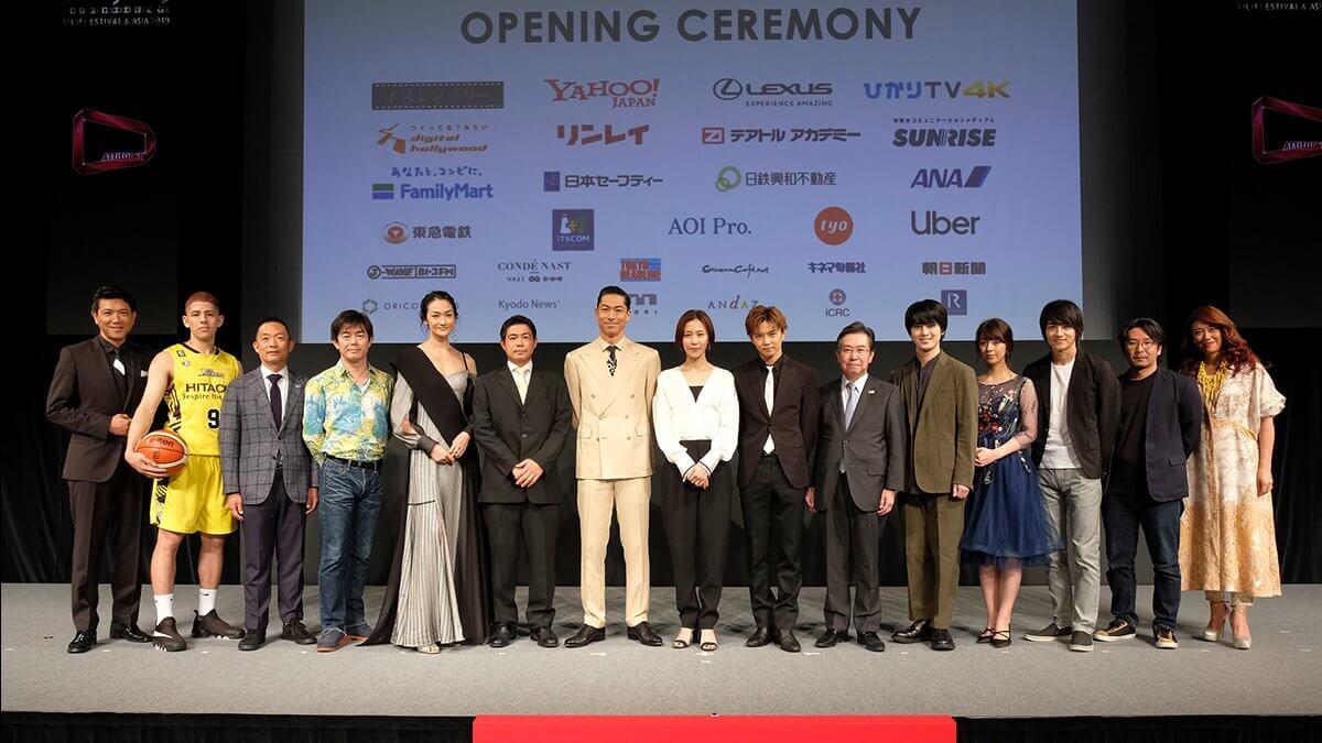 「ショートショート フィルムフェスティバル & アジア 2019」が開幕!オープニングセレモニー会場に「LEDビジョ ン」を設置しました