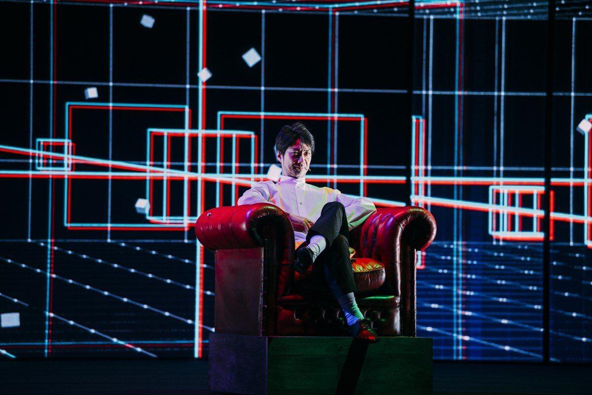 LEDなど最新テクノロジーが融合した舞台芸術の新境地を表現!MANSAI⦿解体新書シリーズ「5W1H」にLEDビジョンを導入しました