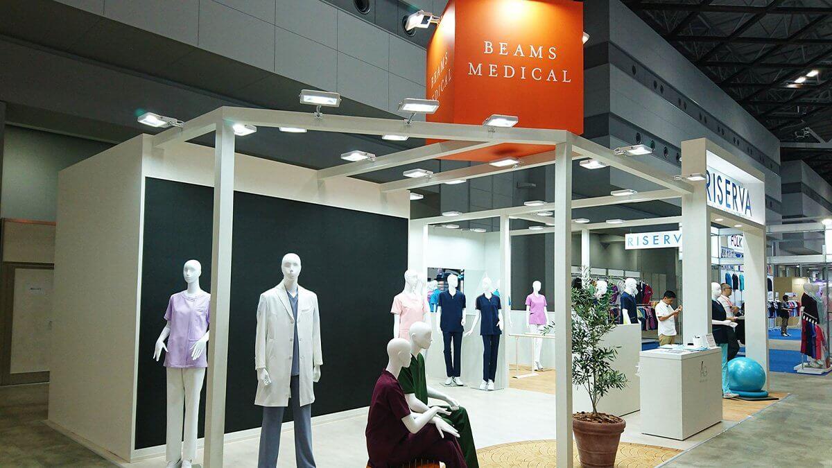 68,927人来場の「国際モダンホスピタルショウ2019」が開催!「BEAMS MEDICAL」展示ブースにLEDビジョンを設置しました