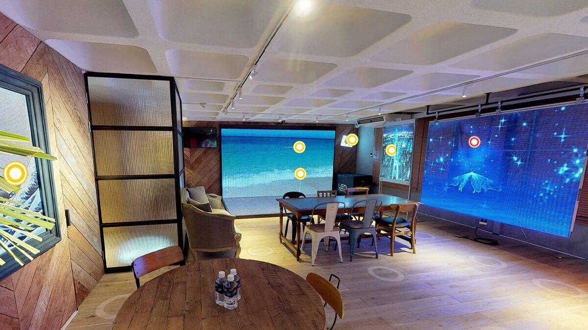 LEDビジョン体験ができる3Dショールーム@東京・表参道