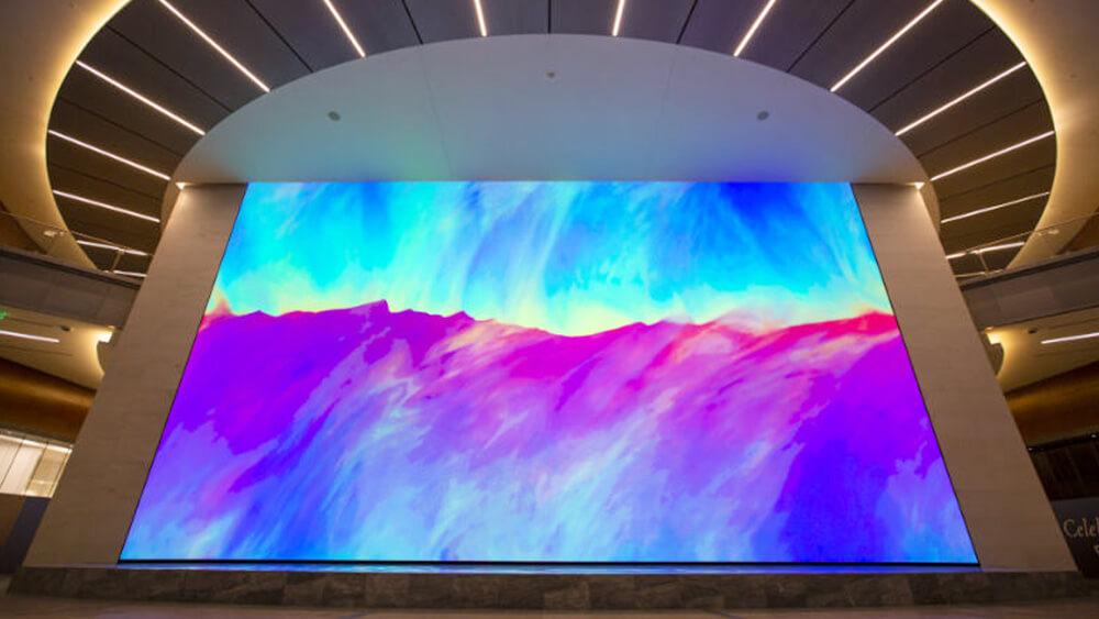 アメリカの新商業エリア「レガシーユニオン」に世界最大級4K超大型LEDビジョンが誕生しました