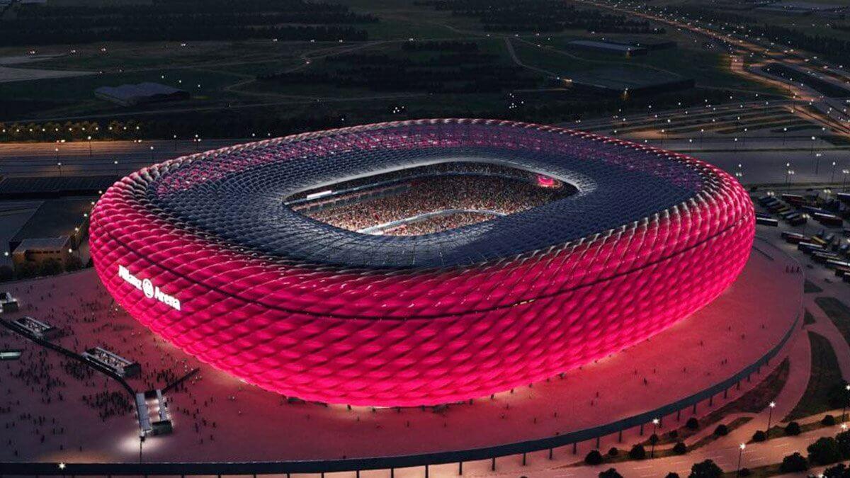 ヨーロッパ最大級アリーナの外観デザインに革命!先駆的巨大LEDビジョンをご紹介