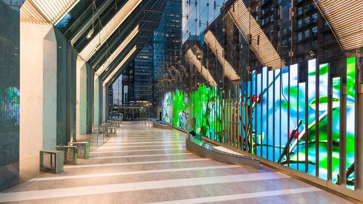 LEDビジョンが加速させた世界のデジタルインスタレーション!シカゴ「150 Media Stream」をご紹介