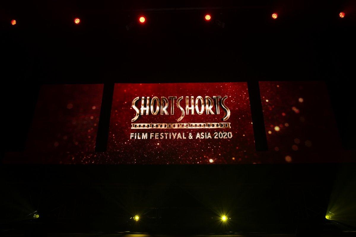 「ショートショート フィルムフェスティバル & アジア 2020」アワードセレモニー会場に「LEDビジョン」を設置しました