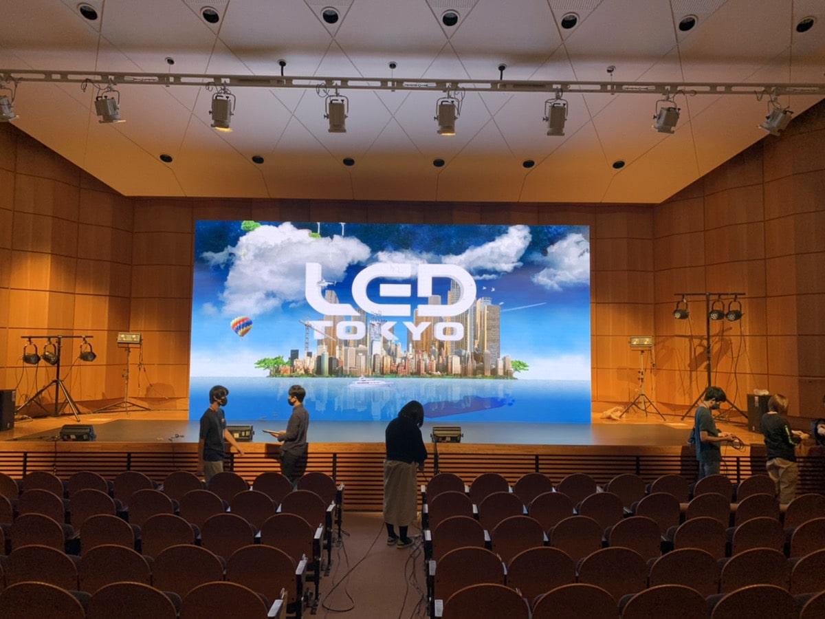 慶應義塾大学第62回三田祭にLEDビジョンを導入しました。