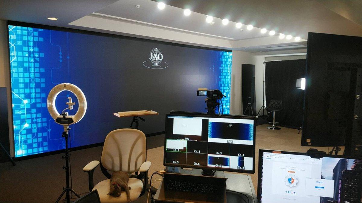 株式会社フロンティア/日本アライナー矯正歯科研究会にLEDビジョンを導入しました。